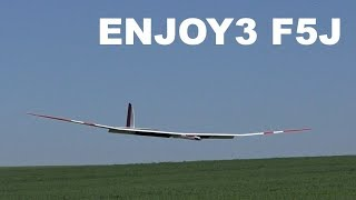 ENJOY3 pirouette, electric powered RC F5J glider model, 2018