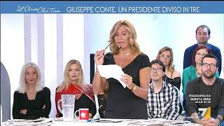 L'aria che tira - Giuseppe Conte, un presidente diviso in tre (Puntata 24/05/2018) | Kholo.pk