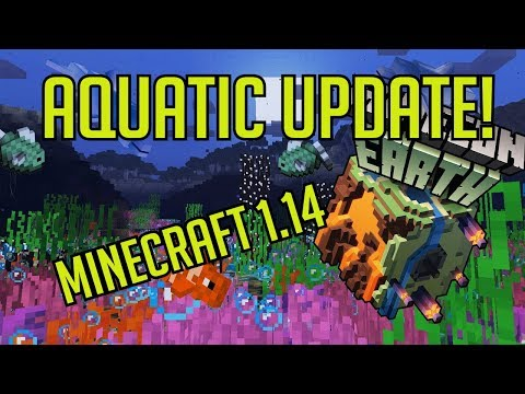 Stream Highlight | Minecraft verze 1.14 - Trojzubec, nový dungeon, delfíni ...atd.