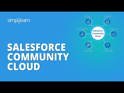 Salesforce Community Cloud   Salesforce Community ... - YouTube