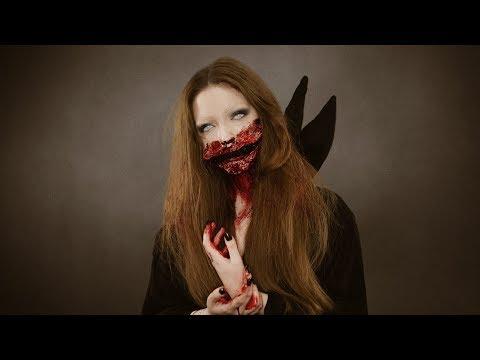 Halloween Makyajı Yaptım!