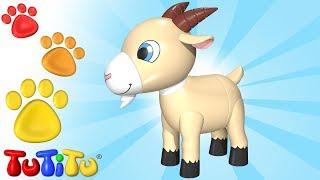 TuTiTu Animals | Animal Toys for Children | Goat and Friends