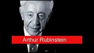 Arthur Rubinstein: Chopin - Polonaise No.7 Op.61 in A flat major, 'Polonaise Fantaisie'