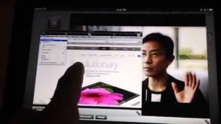 Quasar iPad window manager