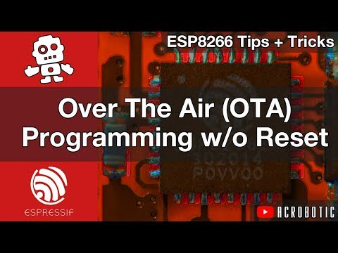 ESP8266 and ESP32 Compatible Code Using Arduino IDE (Mac OSX