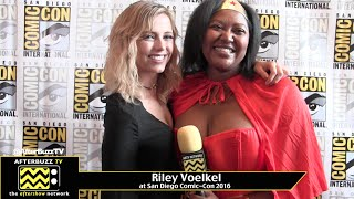 Interview de Riley - SDCC 2016
