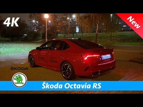 Škoda Octavia RS 2021 - Quick look in 4K | Exterior-Interior, Ambient lights, Matrix LED Headlights