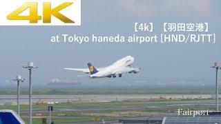 【4k Plane Spotting】【羽田空港】 Panasonic LUMIX DC-GH5 At Tokyo Haneda Airport [HND/RJTT]