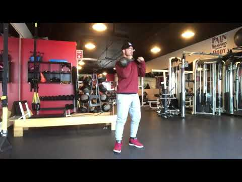 Kettlebell Rotational Clean