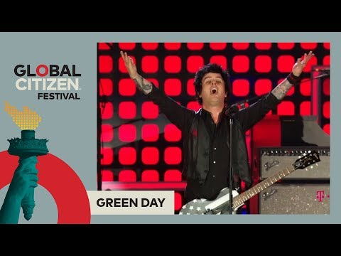 Green Day Perform 'Boulevard Of Broken Dreams' | Global Citizen Festival NYC 2017
