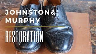 Johnston And Murphy Shoe Restoration