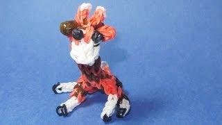 Rainbow Loom: GIRAFFE Charm: (DIY Mommy Animals)