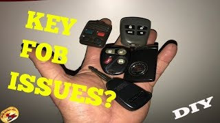 How To Repair A KEY FOB In JUST SECONDS!....DIY