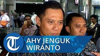 AHY Sebut Wiranto Masih dalam Pengawasan Ketat Dokter