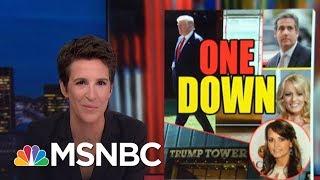 President Trump Hush Money Probe Continues, Despite McDougal Settlement   Rachel Maddow   MSNBC