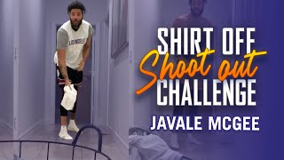 JaVale McGee's #ShirtOffShootOut Challenge