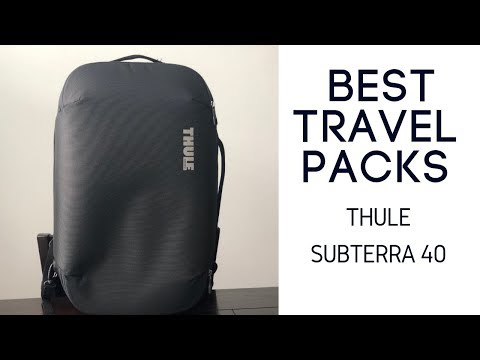 Best Travel Packs: Thule Subterra Carry On 40L Review