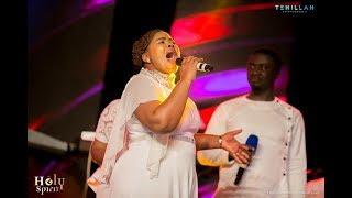 WOW! Lebo Sekgobela Sings Lion Of Judah In Twi (LIVE In Ghana At Tehillah Experience)