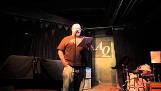 Bill Johnston Reading The Music Of Dreams At AQ, Apr 29 2013