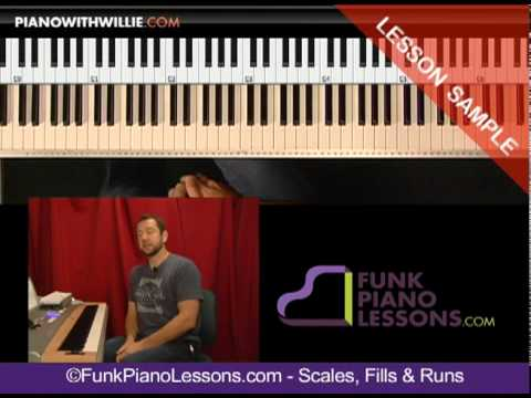 Piano Scales, Fills and Runs - Riffs and runs