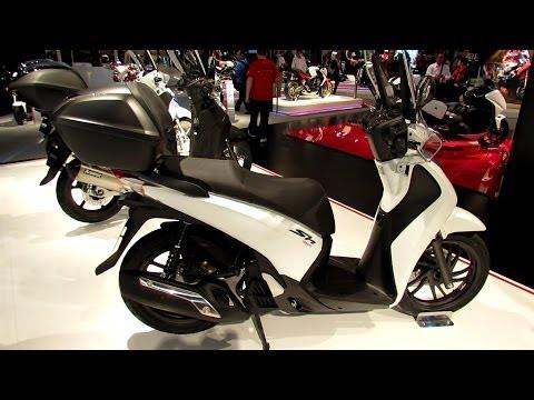 2014 Honda SH150i ABS Scooter Walkaround - 2013 EICMA Milan Motorcycle Exibition
