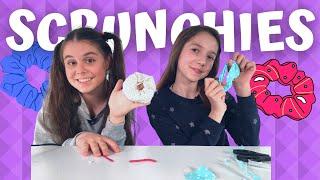 Vyrob si Scrunchies bez šití/Káťa a Náťa