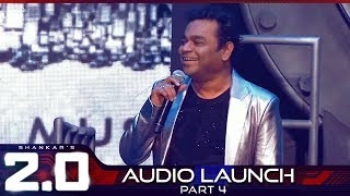2.0 Audio Launch - Part 4 | Rajinikanth, Akshay Kumar | Shankar | A.R. Rahman