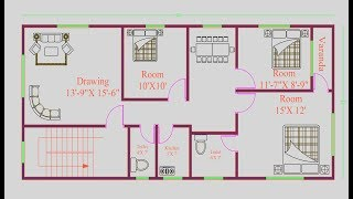 Architectural House Designs / Architectural House Drawing / Architectural House Model/ Plans