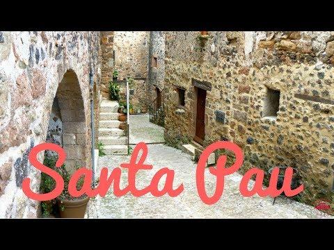 Santa Pau - Girona - Garrotxa - Catalunya (4K UHD)