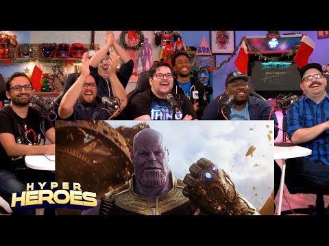 Avengers: Infinity War Official Trailer Reaction! (видео)