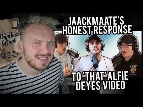 MY BRUTALLY HONEST RESPONSE TO ALFIE DEYES