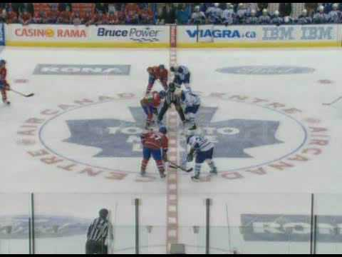 Colton Orr vs. Georges Laraque