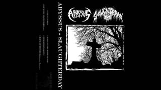 SLAUGHTERDAY - House of the Void (Rudimentary Peni cover)