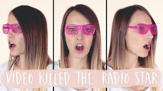 Video Killed The Radio Star - The Buggles (covered by Bailey Pelkman)