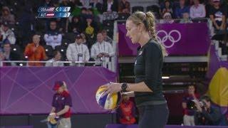 Women's Beach Volleyball Preliminary Round - USA v AUT | London 2012 Olympics
