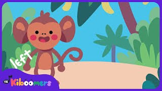 Funky Monkey | Monkey Dance Song for Kids | The Kiboomers