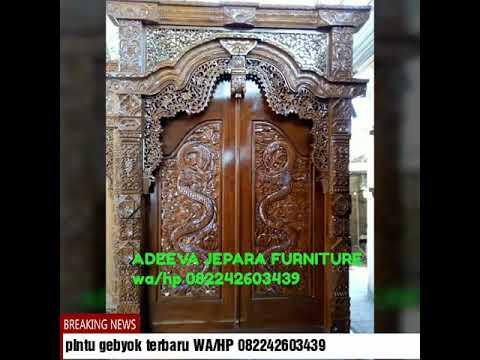 Pintu gebyok motif ukiran naga,WA/HP 082242603439,Pintu gebyok,pintu gebyok mewah,pintu gebyok antik