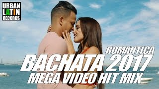BACHATA 2017 - ROMANTICA MEGA VIDEO HIT MIX 1H - ROMEO SANTOS, PRINCE ROYCE, GRUPO EXTRA