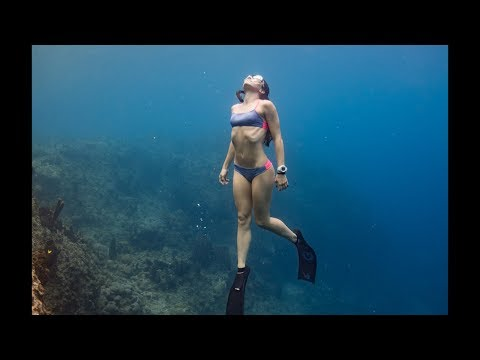Freediving Breathe Up and How to Breathe for Freediving: hold your breath longer