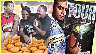 BROTHERS GET VIOLENT OVER CHICKEN NUGGETS!  - NFL Tour Red Zone Rush Gameplay