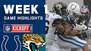 Colts vs. Jaguars Week 1 Highlights | NFL 2020
