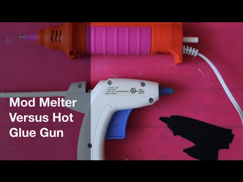 Mod Melter Versus Hot Glue Gun