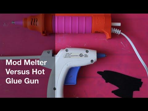 Mod Melter Versus Hot Glue Gun