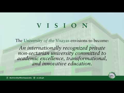 University of Visayas | Vision, Mission, & Core Values