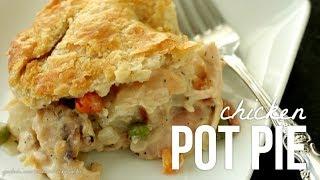 Homemade Chicken Pot Pie!! How to Make Pot Pie Recipe