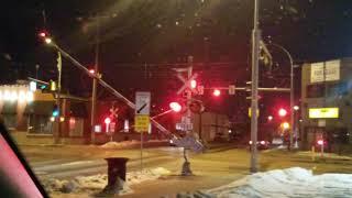 LRT crossing in Edmonton,AB