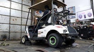 We Put Our 600cc Golf Cart on the DYNO!