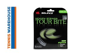 Solinco Tour Bite String 12m video
