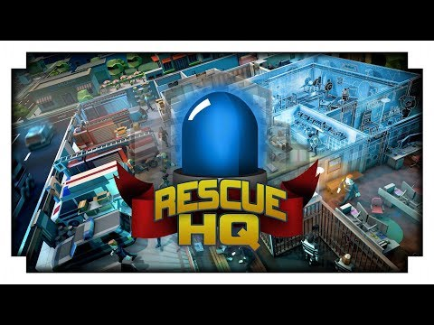 Gameplay de Rescue HQ The Tycoon