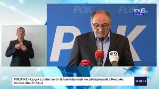 RTK3 - Lajmet e orës 17:00 03.04.2020